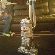 Photo of Shark Navigator Lift-Away Deluxe Professional Bagless Vacuum uploaded by Megan H.