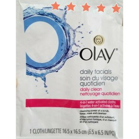 Photo of Olay 4-in-1 Daily Facial Cloths uploaded by Dal -.