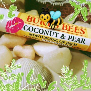 Photo of Burt's Bees Coconut & Pear Lip Balm uploaded by Catriona R.
