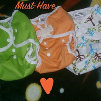 Thirsties Duo Diaper Snap, Honeydew, Size Two (18-40 lbs) uploaded by Carolina D.