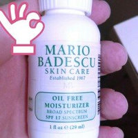 Mario Badescu Oil Free Moisturizer SPF 30, 2 oz. uploaded by Shaina K.