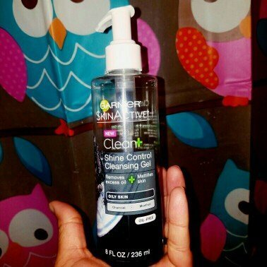Garnier Skinactive Clean + Shine Control Cleansing Gel uploaded by Nylla C.