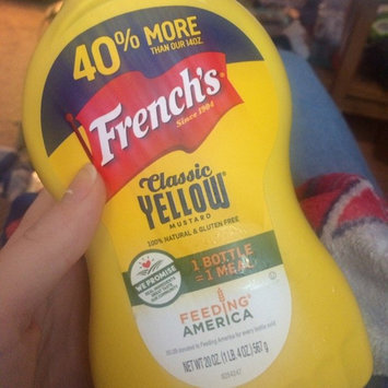 Photo of French's Classic Yellow Mustard uploaded by Kelsey H.