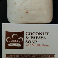 Nubian Heritage Coconut & Papaya Soap uploaded by Kimberly R.