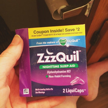ZzzQuil Nighttime Sleep-Aid Liquid, Warming Berry uploaded by Emma C.