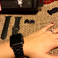 Platinum - Chain Link Band For Apple Watch 42mm - Black uploaded by Jess G.