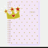 Sugar Paper Planner 2016 Weekly/Monthly 5x8 uploaded by Roxie K.