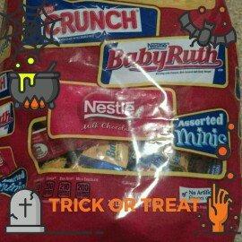 Nestlé Assorted Miniatures Nestlé, Butterfinger, Nestlé Crunch, Baby Ruth uploaded by Caroline C.