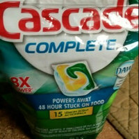 Cascade Complete ActionPacs Dishwasher Detergent uploaded by Adrienne A.