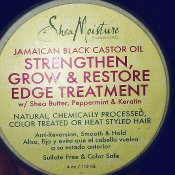SheaMoisture Jamaican Black Castor Oil Strengthen, Grow & Restore Treatment Masque w/ Shea Butter, Peppermint & Keratin uploaded by Giselle P.