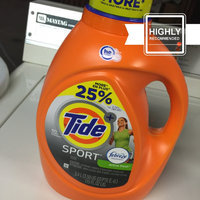 Tide Plus Sport HE Liquid Laundry Detergent 115 Floz/60LD uploaded by Wendy C.