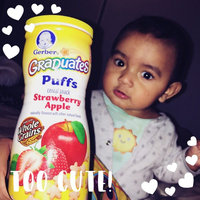 Gerber Graduates Puffs Strawberry Apple - 1.48 oz. (6 Pack) uploaded by Maribel E.