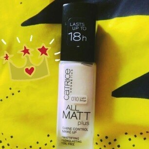 Catrice All Matt Plus Shine Control Makeup uploaded by Janine O.