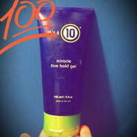It's a 10  Miracle Firm Hold Gel uploaded by Linda B.