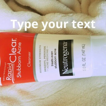 Neutrogena® Rapid Clear® Stubborn Acne Cleanser 5 fl. oz. Tube uploaded by Prashika S.