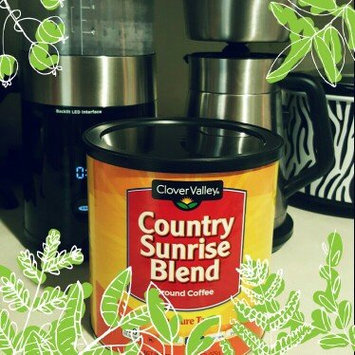 Photo of Clover Valley Country Sunrise Blend Ground Coffee - Medium Roast - 10.5 oz uploaded by Faith M.