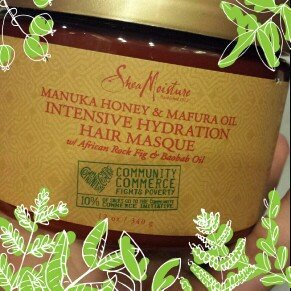 SheaMoisture Manuka Honey & Mafura Oil Intensive Hydration Hair Masque uploaded by Laura B.
