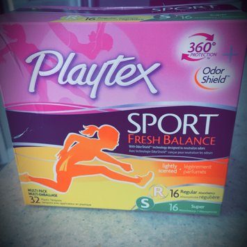 Playtex® Sport® Fresh Balance™ uploaded by Haleigh B.