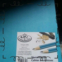Royal & Langnickel Sky Blue A4 Sketchbook Cartridge Drawing Paper Artist Sketch Book Pad Casebound 110gsm 220 Pages (21.6cm x 27.9cm) uploaded by Quinteria h.