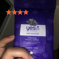 Yes To Blueberries Travel Cleansing Towelettes - 8 Count uploaded by Luz H.