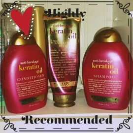 OGX® Keratin Oil Conditioner uploaded by Brittany M.