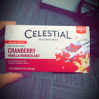 Celestial Seasonings® Cranberry Vanilla Wonderland Herbal Tea Caffeine Free uploaded by Jayel K.