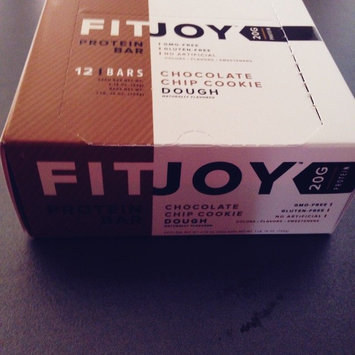 Photo of Enyotics Health FitJoy(tm) Protein Bar - Chocolate Chip Cookie Dough uploaded by becky L.