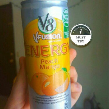 Photo of V8® V-Fusion + Energy Peach Mango Flavored Vegetable & Fruit Juice uploaded by Anna H.