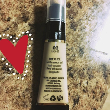 Photo of Milani Retouch + Erase Light-Lifting Concealer uploaded by Yasmin A.