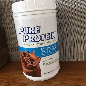 Photo of PURE PROTEIN® 100% Whey Protein Shake Powder Rich Chocolate uploaded by Caroline B.
