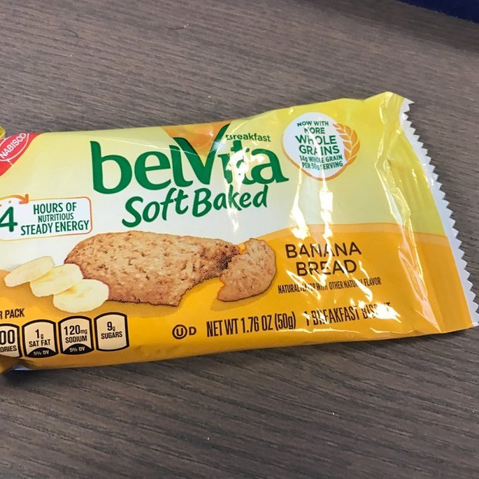 belVita Soft Baked Banana Bread Breakfast Biscuit 1.76 oz. Pack uploaded by Jon H.