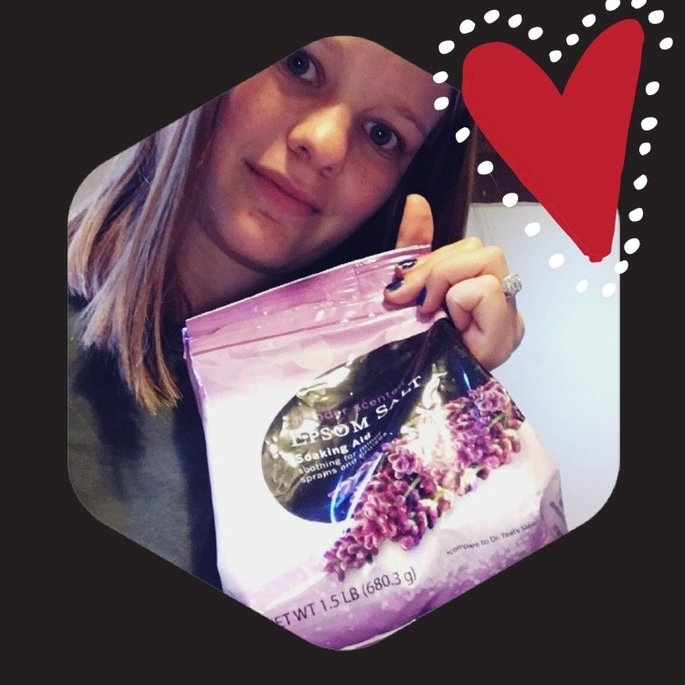 Walmart Lavender Scented Epsom Salt Soaking Aid, 24 oz uploaded by Jazmyne W.