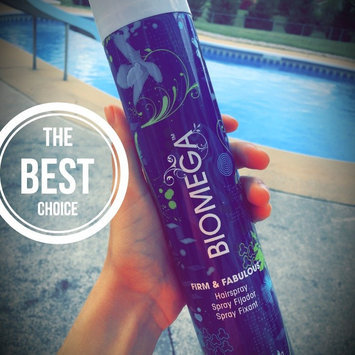 Photo of Aquage Biomega Firm and Fabulous Spray Hair Spray for Unisex, 10 Ounce uploaded by Kya F.