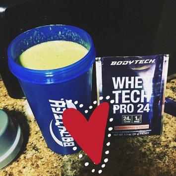 Photo of BodyTech Whey Pro 24 Protein Powder, Strawberries & Cream uploaded by Shalonda G.