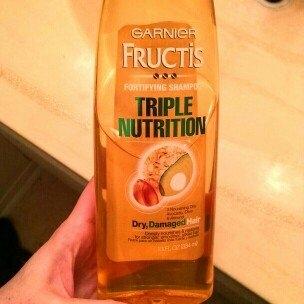 Garnier Fructis Haircare Triple Nutrition Extra Nourishing Cream Fortifying Shampoo uploaded by Ivori M.