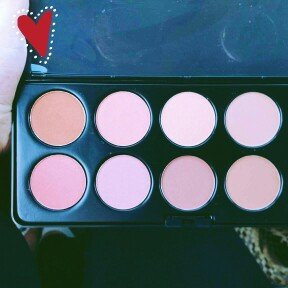 Photo of BH Cosmetics 10 Color Professional Blush Palette uploaded by Helen G.