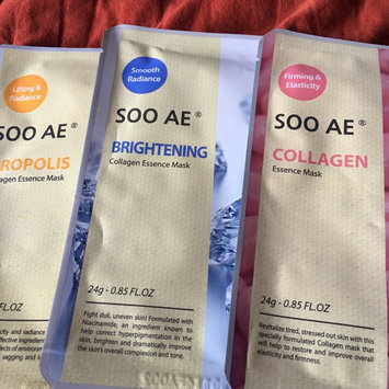 Photo of Soo Ae Snail Collagen Brightening and Moisture Mask uploaded by Jacqueline L.