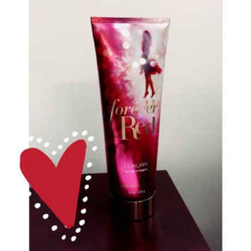 Photo of Bath & Body Works® Forever Red Luxury Triple Moisture Body Cream uploaded by Amber C.