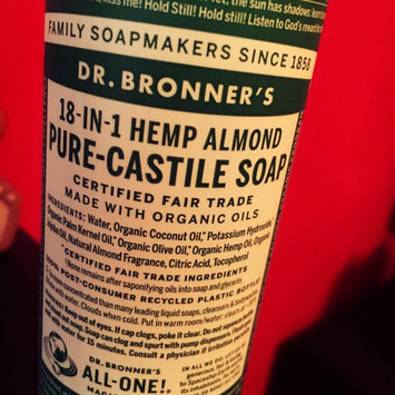Photo of Dr. Bronner's 18-in-1 Hemp Almond Pure Castile Soap uploaded by Angela N.