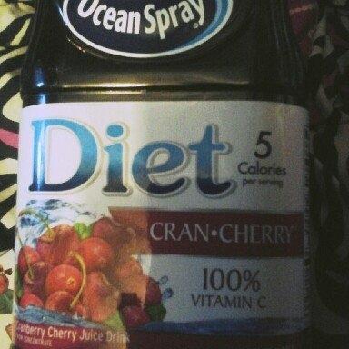 Ocean Spray Diet Cran-Cherry Cranberry Cherry Juice Drink uploaded by Tina R.