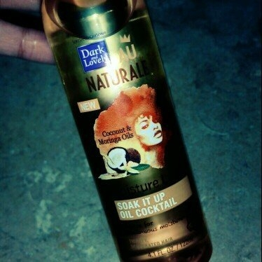 Dark and Lovely® Au Naturale Moisture L.O.C. Soak It Up Oil Cocktail for All Hair Types 4.0 fl. oz. Bottle uploaded by Tay S.