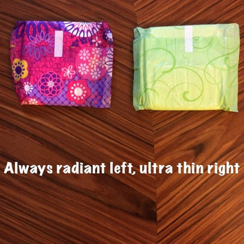 Always Radiant Infinity Pads with Flexi-Wings uploaded by Abbie C.