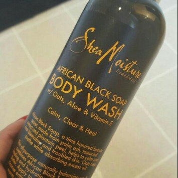 SheaMoisture African Black Soap Body Wash uploaded by brittney a.
