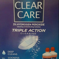 Clear Care Triple Action Cleaning 3% Hydrogen Peroxide Cleaning & Disinfecting Solution uploaded by Heather C.