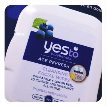 Photo of Yes To Blueberries Cleansing Facial Wipes uploaded by Xanadu R.
