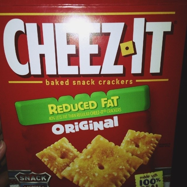 Cheez-It Reduced Fat Crackers - 12 CT uploaded by Alyssa S.