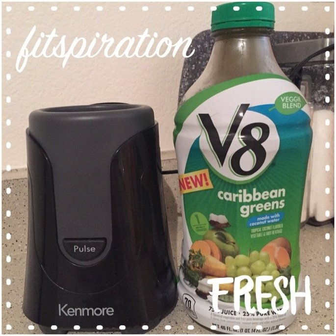 V8® Veggie Blend Caribbean Greens Vegetable & Fruit Beverage 46 fl. oz. Plastic Bottle uploaded by Charlie A.