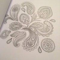 Mendhi Adult Coloring Book: Coloring for Everyone uploaded by Caitlin B.