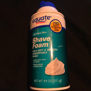 Photo of Equate Sensitive Skin Shave Foam, 11 oz uploaded by Regan G.