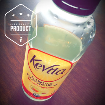 KeVita Delicious Vitality Sparkling Probiotic Drink Lemon Cayenne Cleanse uploaded by Kristen B.